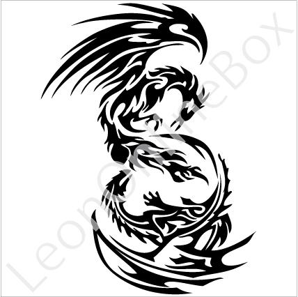 Fenix clipart tribal Tattoo tribal Tribal and Tattoos
