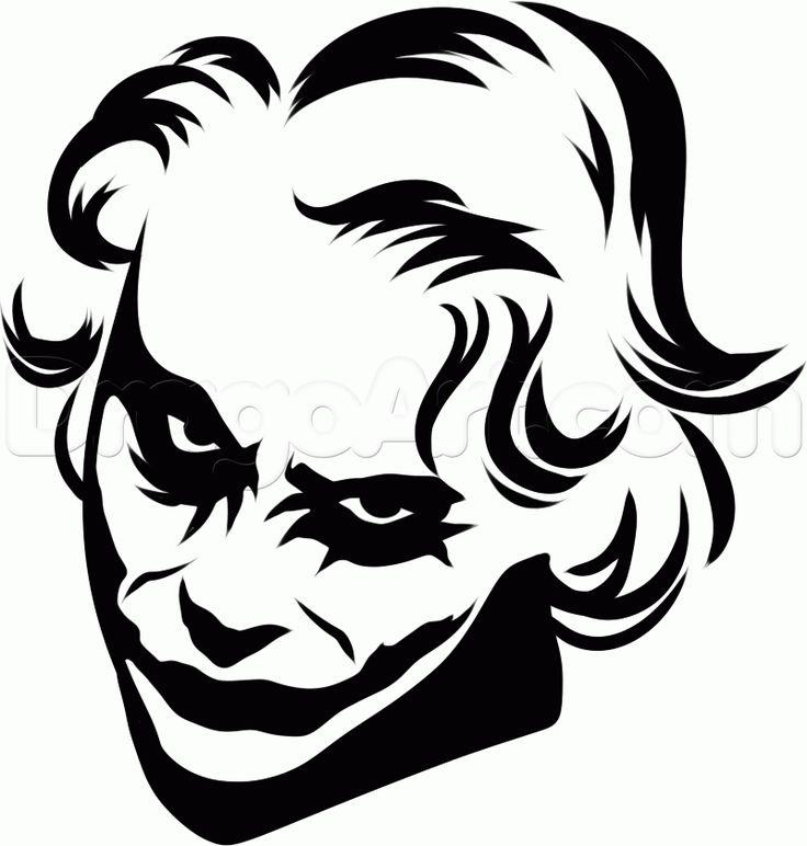Joker clipart tribal #5