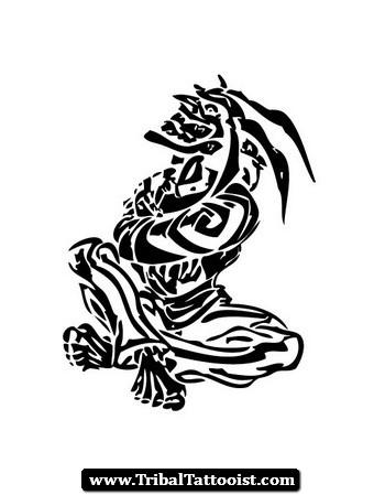 Joker clipart tribal Joker Tribal Tribal Tattoos Pinterest