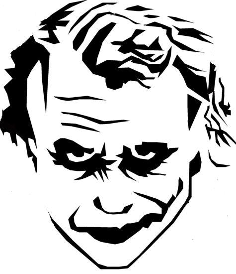 Joker clipart tribal #7