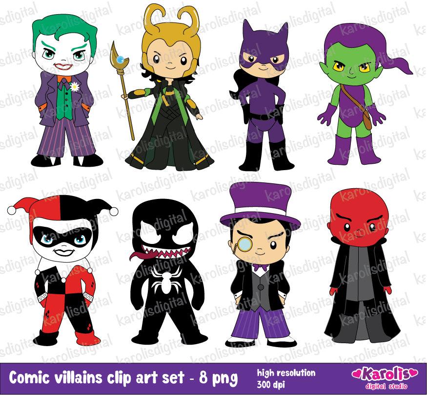 Joker clipart villain Villains Comic art a commercial