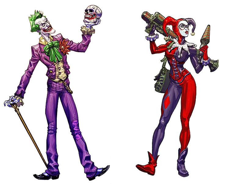Joker clipart villain Arkham Batman: Joker Quinn Download
