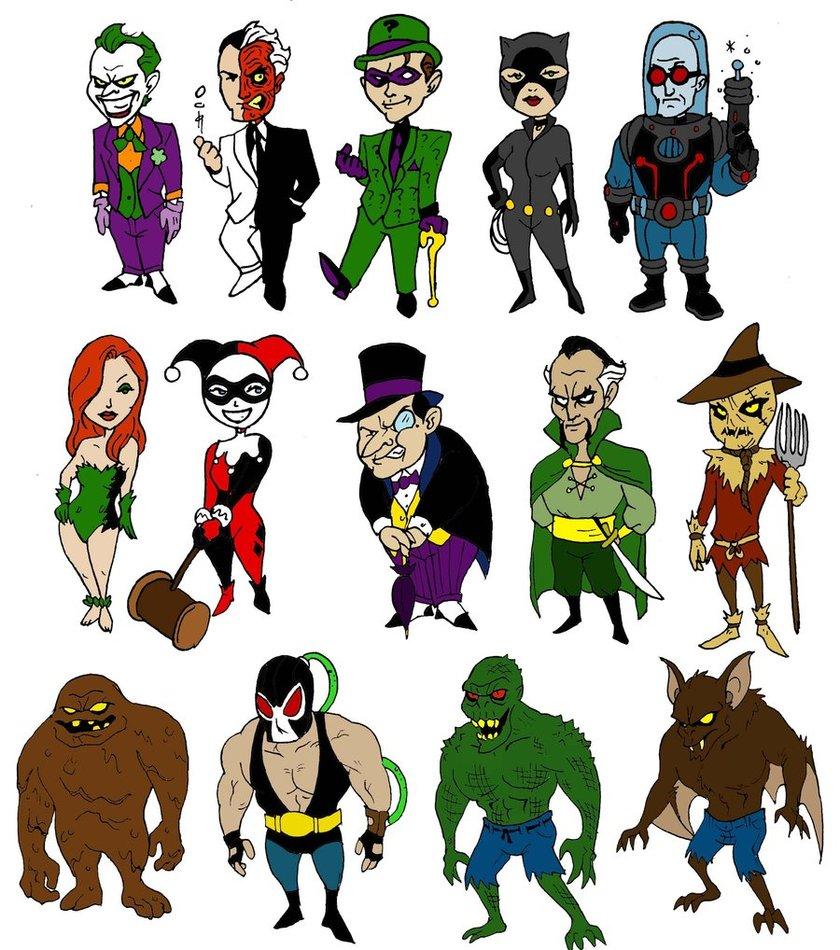 Joker clipart villian Mbecks14 Mbecks14 Bat by Villains