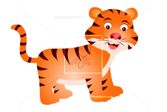 Amd clipart tiger Clipart Fineartpixel Tiger Vector &