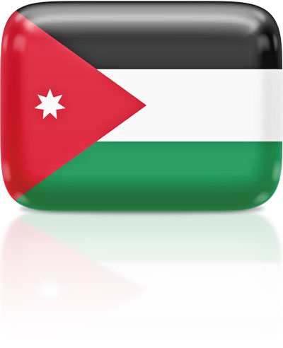 Jordania clipart animated Flag Flag 3D waving Icons