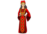 Jordania clipart color Kb Results Size: costume traditional