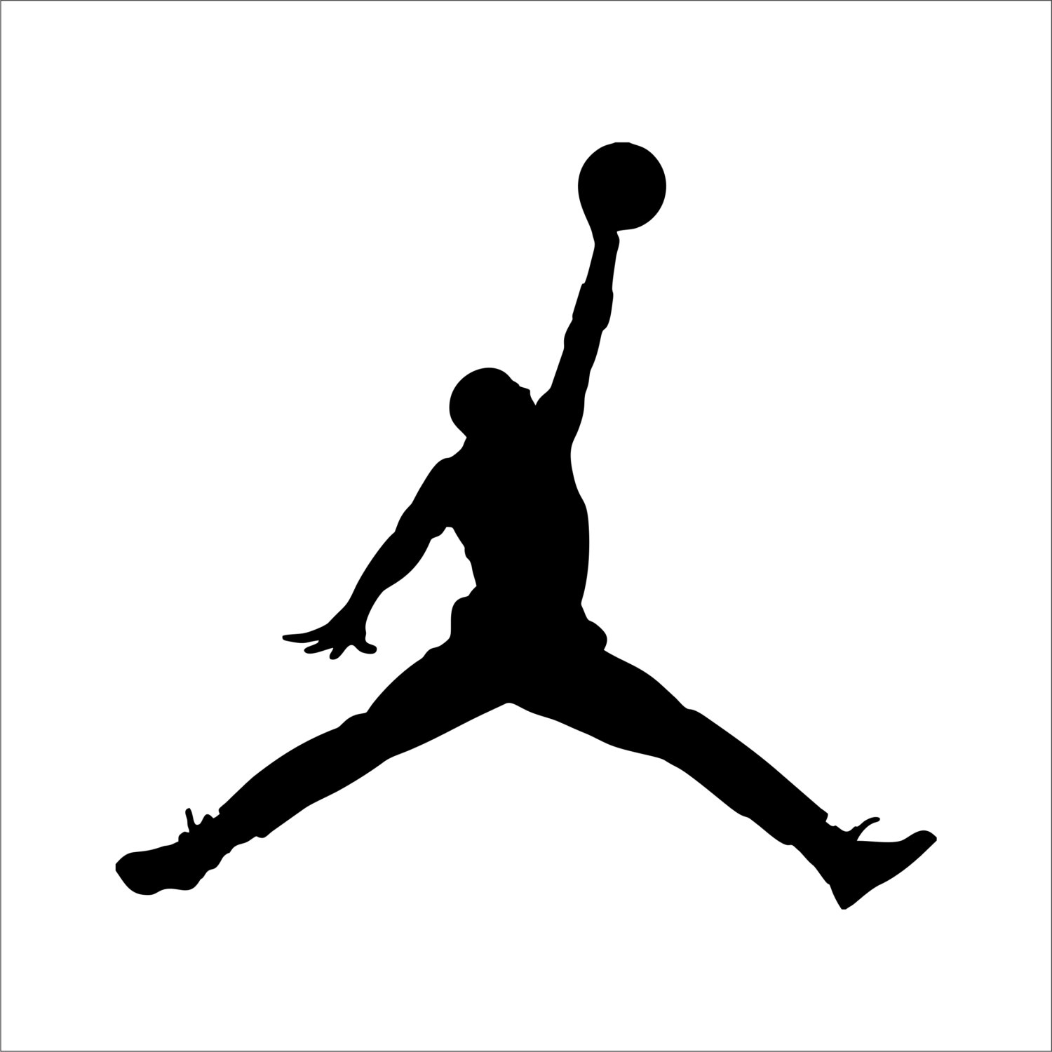 Jordania clipart jumpman Etsy Jumpman & Decal Many