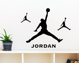 Jordania clipart jumpman Decals Jordan Decal 3 name