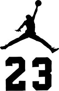 Jordania clipart jumpman ( Jordan Wall and AIR