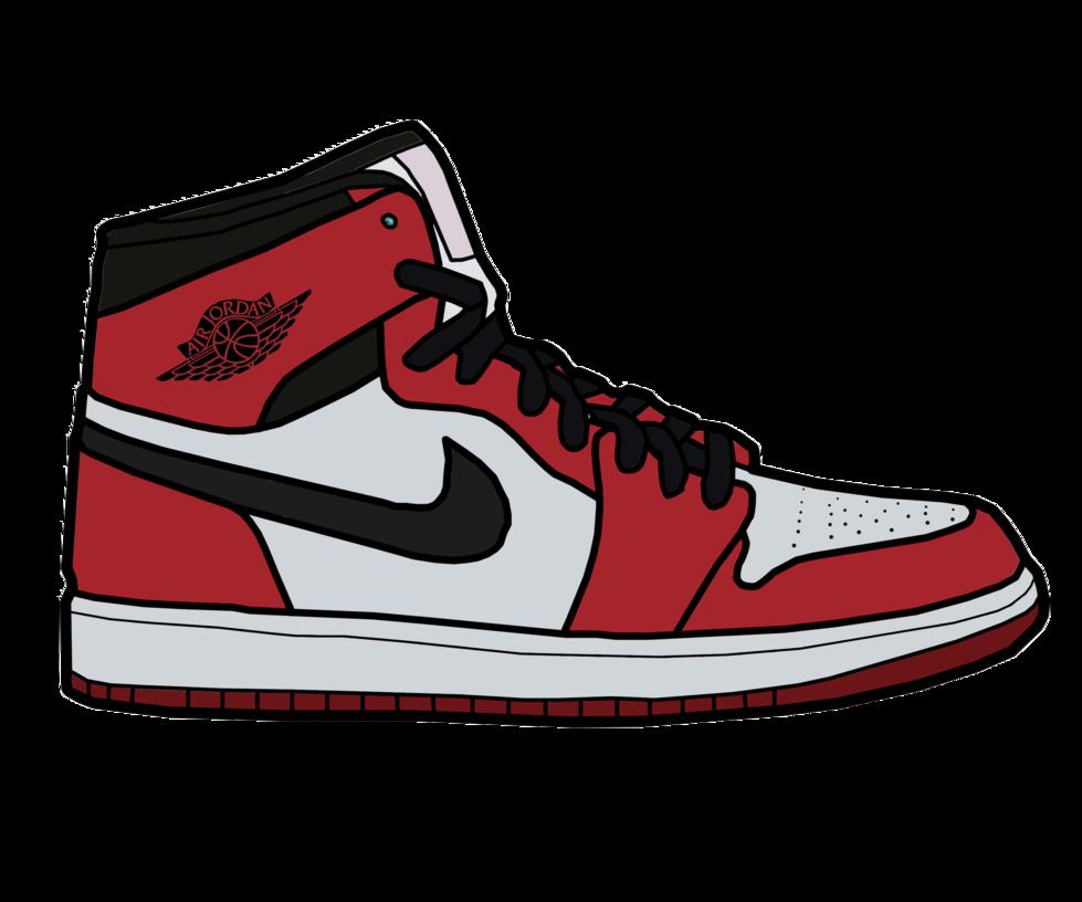 Drawn shoe jordan 1 Jordan Art Art Clip Clip