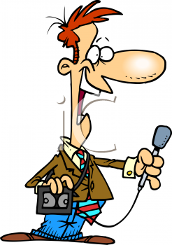 Journalist clipart advertisement Clipart Clipart Interviewing Clipart Info
