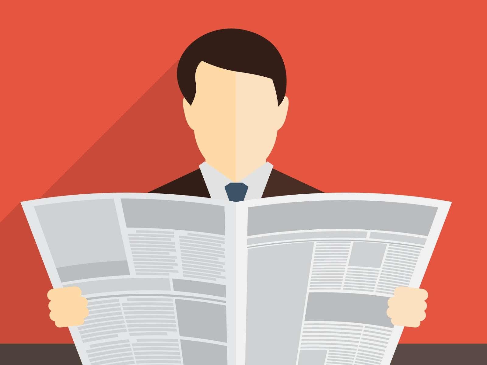 Journalist clipart attention please #6