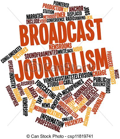 Journalist clipart broadcast journalism Journalists Illustrations clipart and Journalism