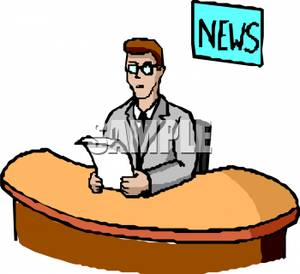 Journalist clipart broadcast journalism Collection clipart Clipart Broadcast Newspaper