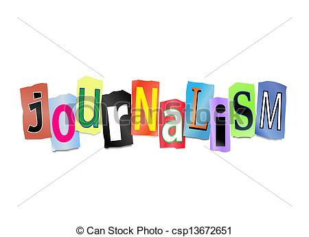 Journalist clipart broadcast journalism Of Illustrations Journalism csp13672651 Journalism