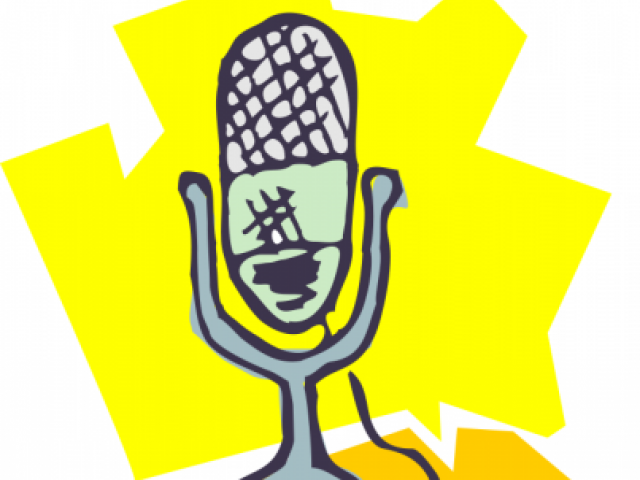 Microphone clipart talent show #4