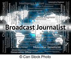 Journalist clipart broadcaster Announce  And Shows