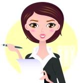 Journalist clipart female journalist #2