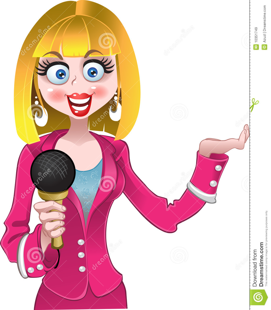 Journalist clipart female principal  education worldknots