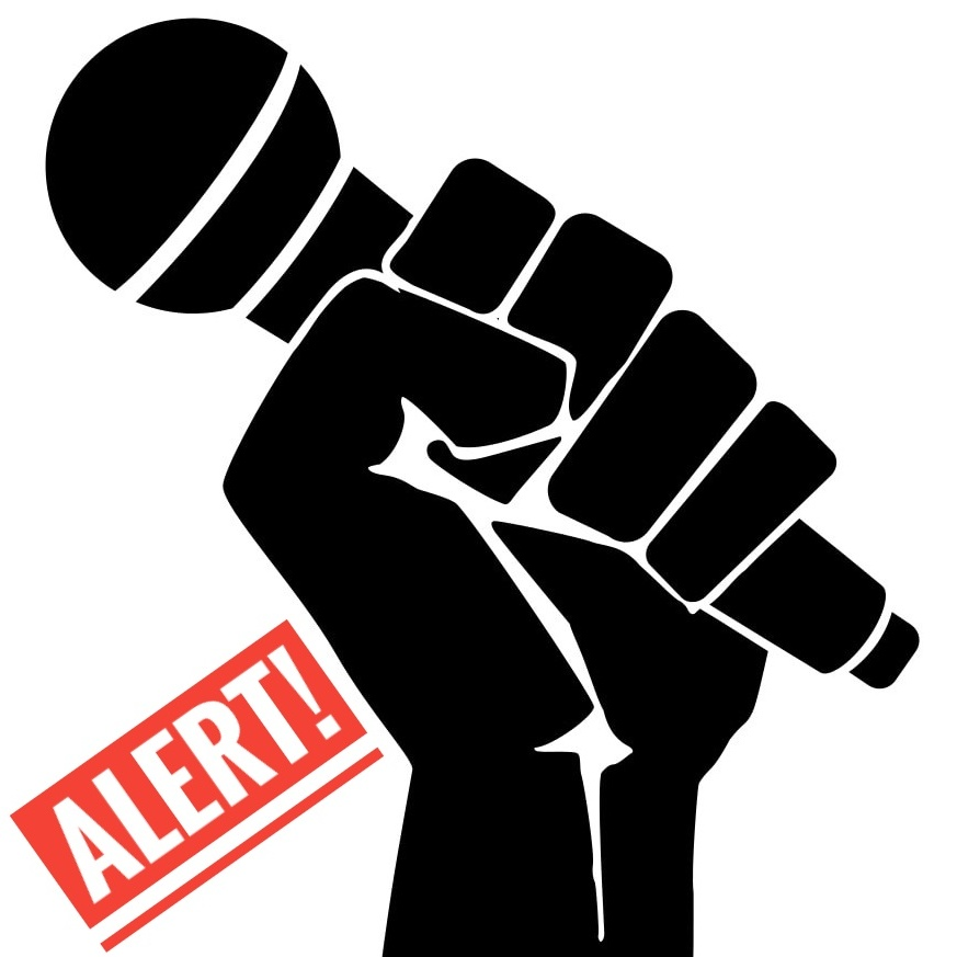 Journalist clipart freedom expression Journalists arrested and arrested detained