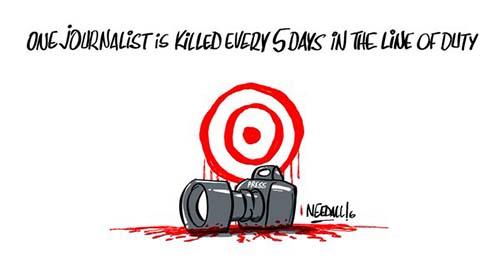 Journalist clipart freedom expression Days Freedom in is journalist
