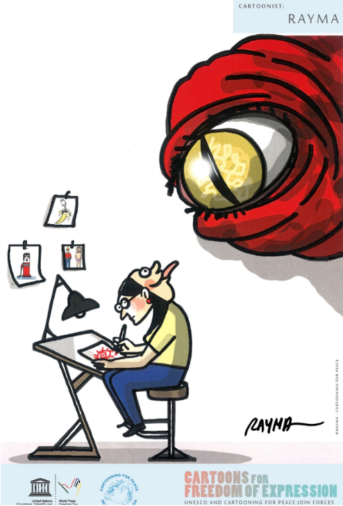 Journalist clipart freedom expression Calls EXPRESSION: images to
