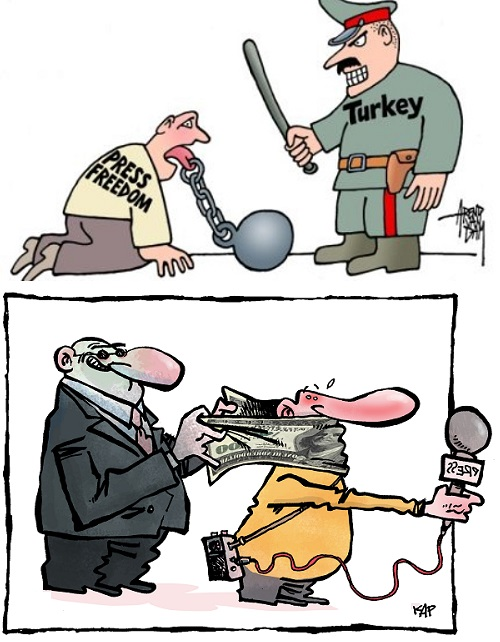 Journalist clipart freedom expression The are under of Ülkece
