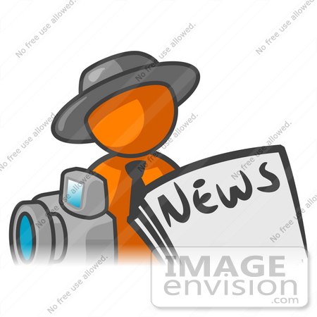 Journalist clipart good news #4