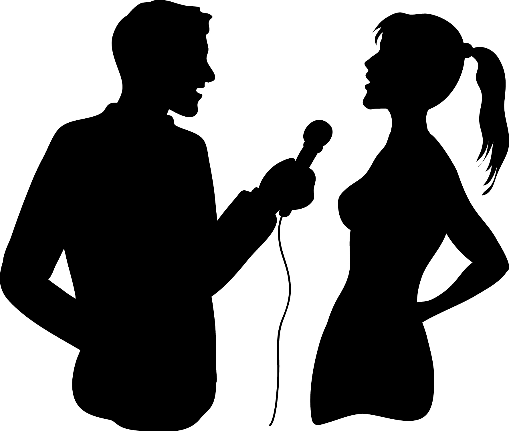 Celebrity clipart tv interview 2493 Clipart Microphone Microphone ClipartFan