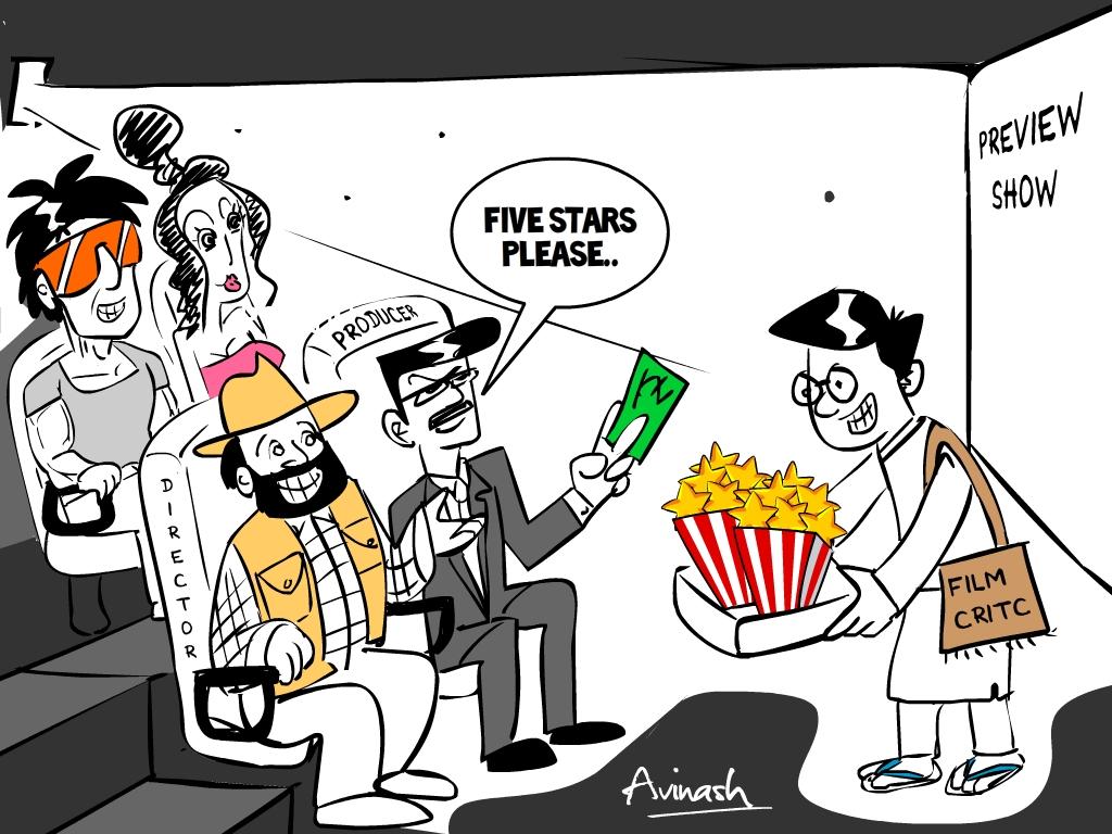 Journalist clipart movie critic #13