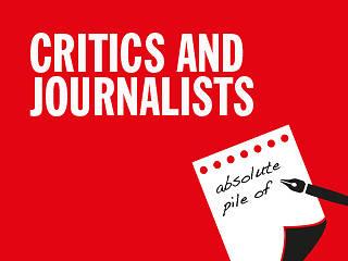 Journalist clipart movie critic #10