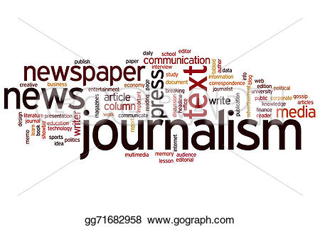 Journalist clipart newspaper article #8
