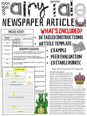 Journalist clipart newspaper article #11