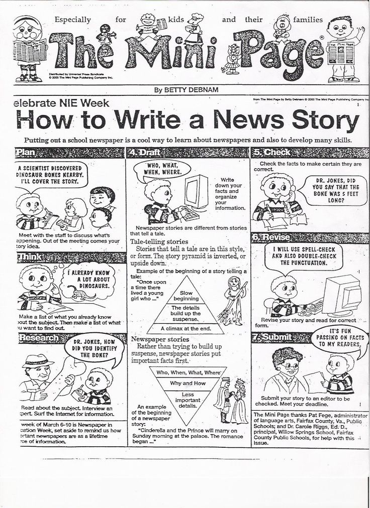 Journalist clipart newspaper article #5