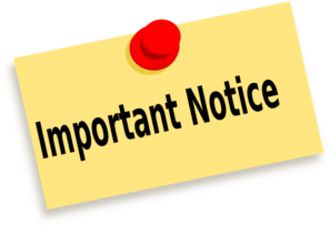 Journalist clipart notice Download Notice Sign Clipart Sign