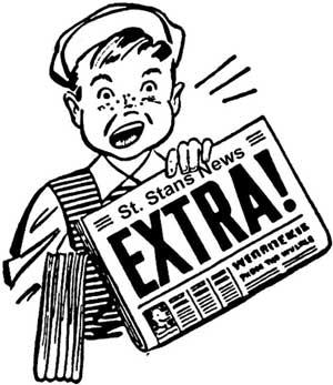 Club clipart school newspaper Newspaper Club Stans Club Newspaper