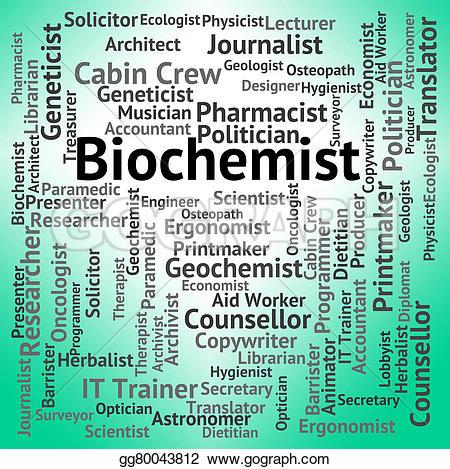 Journalist clipart translator Biochemist Stock job science indicates