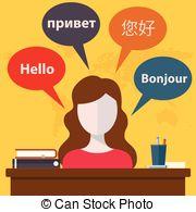 Journalist clipart translator   court Illustrations and