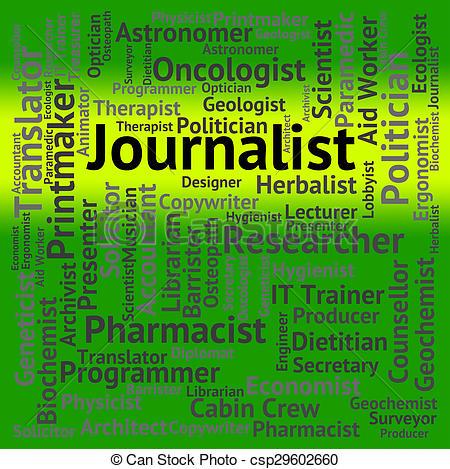 Journalist clipart translator Correspondent Journalist  Editor Journalist