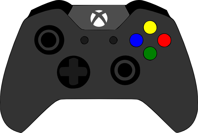 Controller clipart xbox one controller Controller By SVG Crafts XBOX