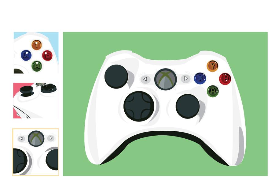 Controller clipart green Cliparts Xbox Clipart Controller Xbox