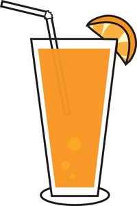 Drink clipart orange juice Panda Juice Free Clipart Free