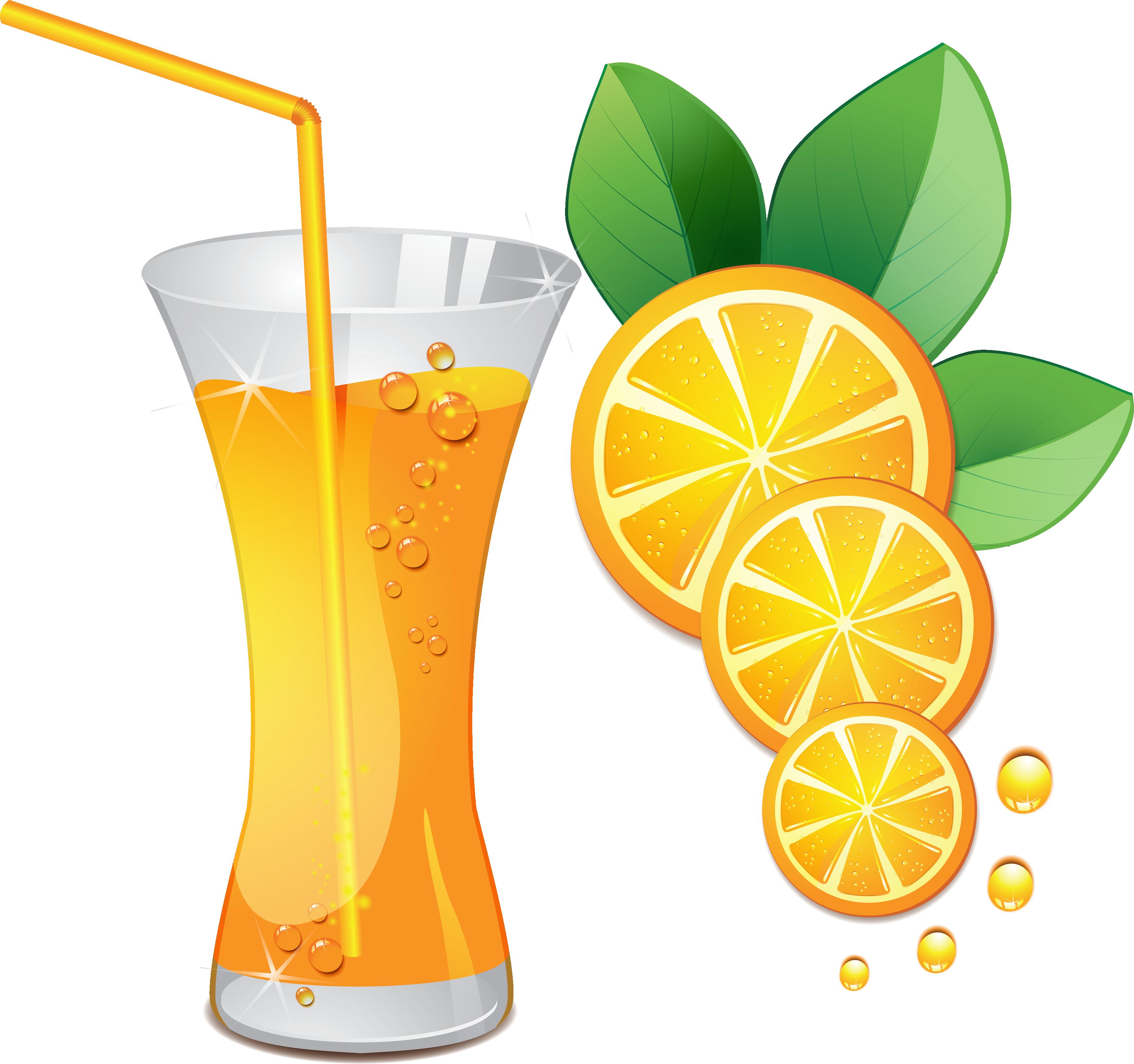 Juice clipart Art vector Orange images free