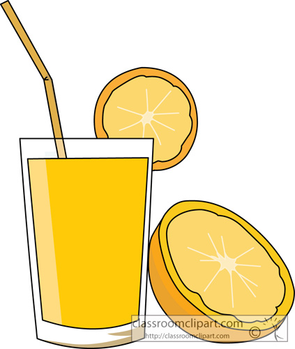 Drink clipart food and beverage Clipart juice Clip orange Drink