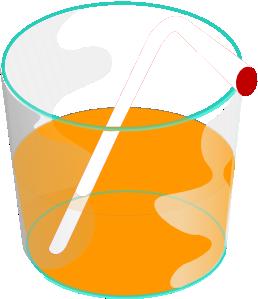 Juice clipart animated Clip  Orange online art