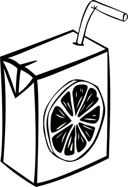 Juice clipart black and white Panda Clipart Images And Free