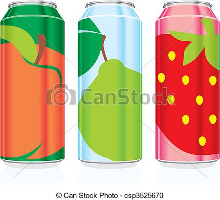 Juice clipart drink can #4