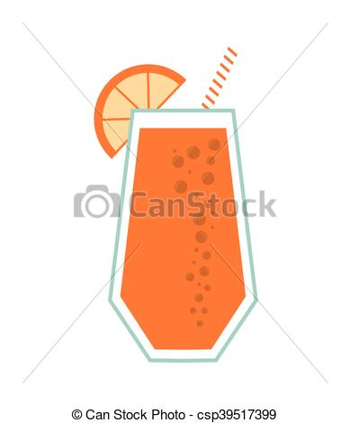 Juice clipart drinking straw #8