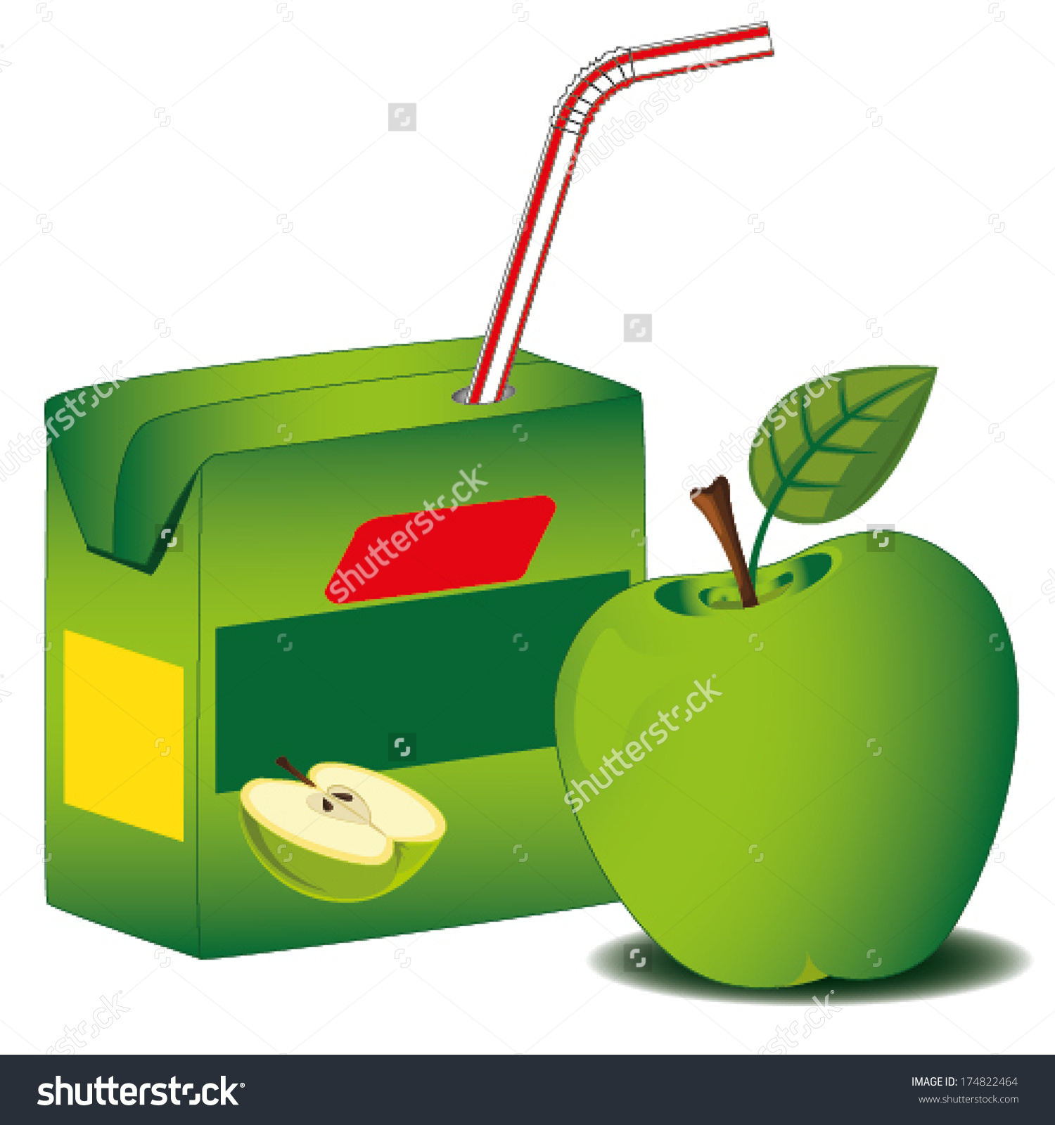 Juice clipart orange and apple Clipart Apple Cliparts box Juice