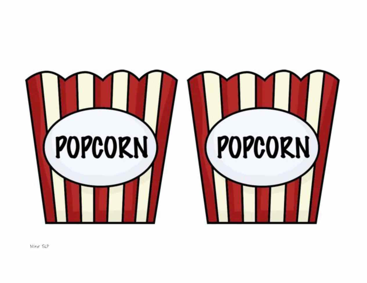 Popcorn clipart juice Printable Pictures Print popcorn tutorial